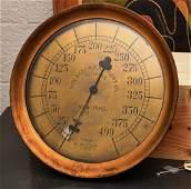 Crosby antique nautical gauge