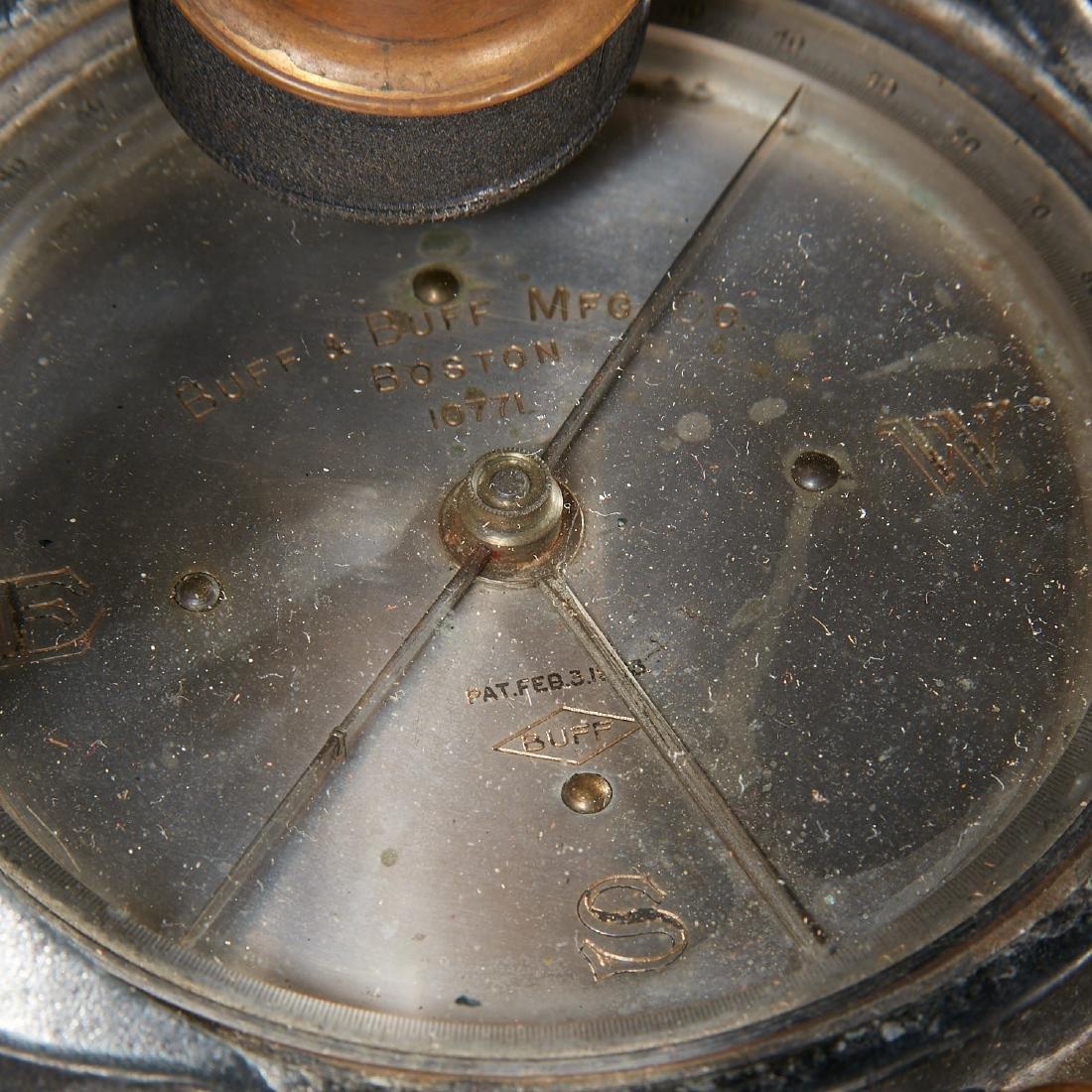 Vintage Buff & Buff Co. surveyor's transit - 10