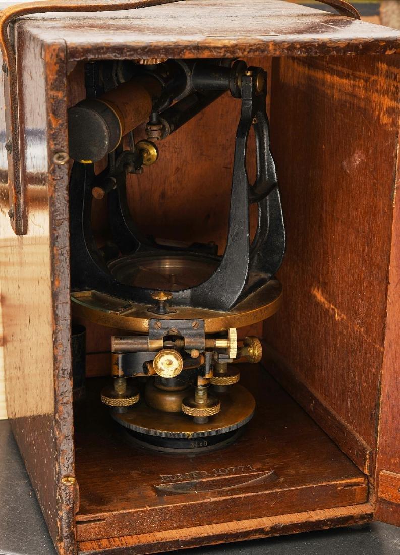 Vintage Buff & Buff Co. surveyor's transit