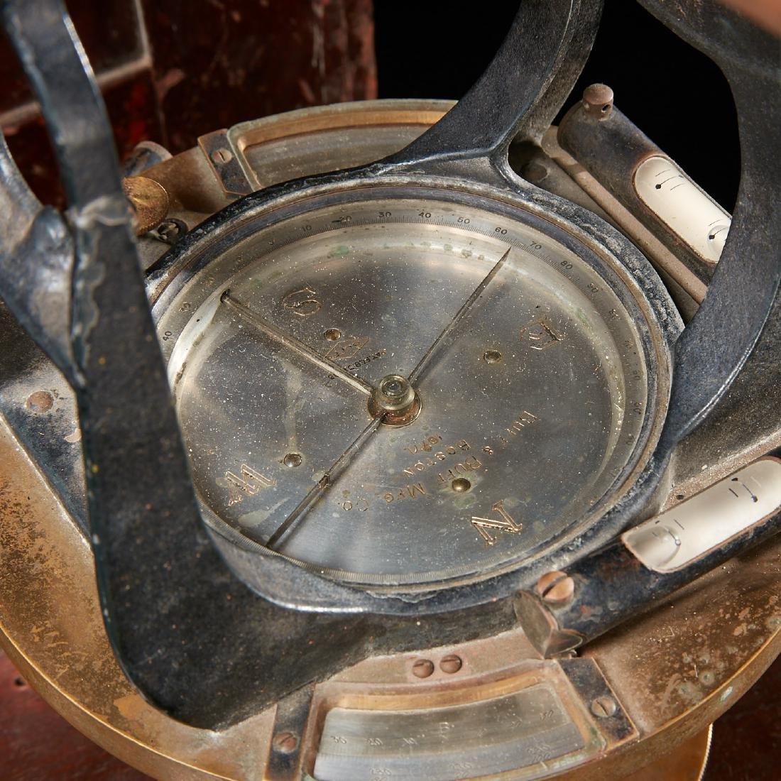 Vintage Buff & Buff Co. surveyor's transit - 5