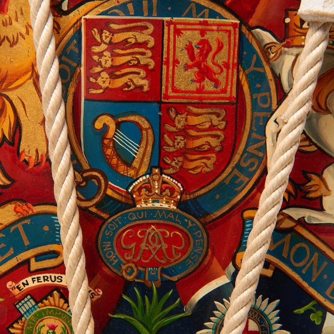 British Brigade of Guards ceremonial drum - 2