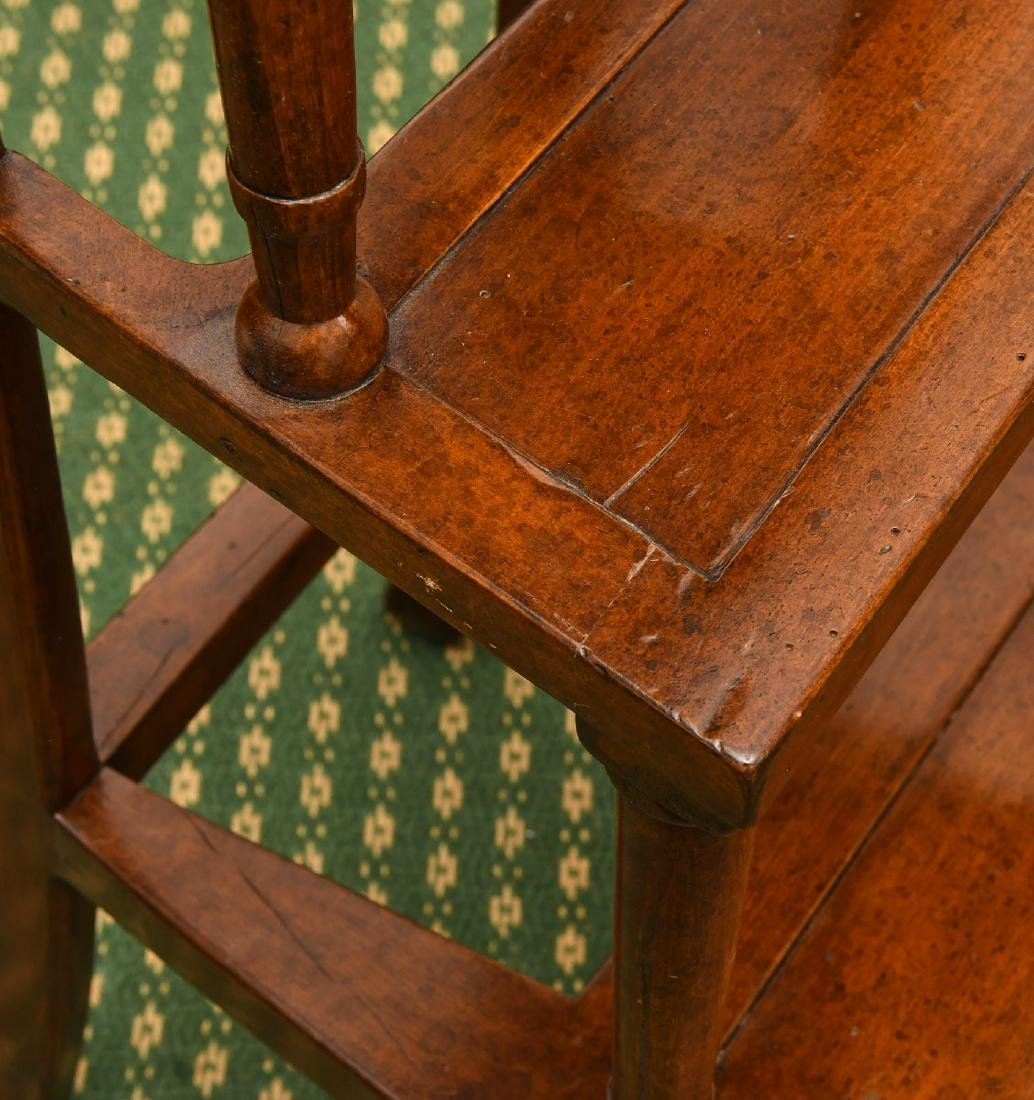 Victorian style turned library steps - 6