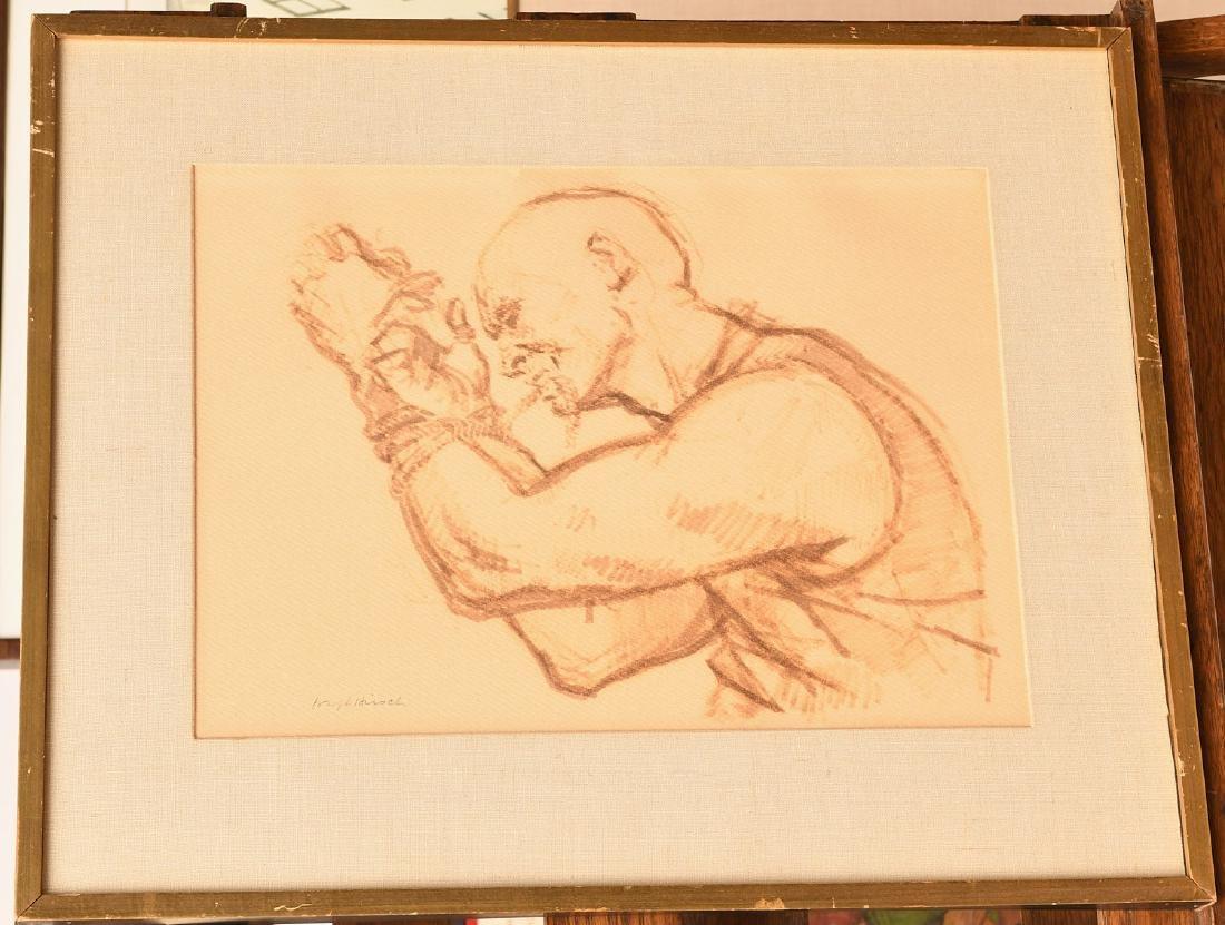 Joseph Hirsch, escape artist painting