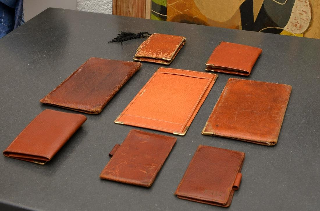 (8) Leather accessories incl. Asprey of London - 10