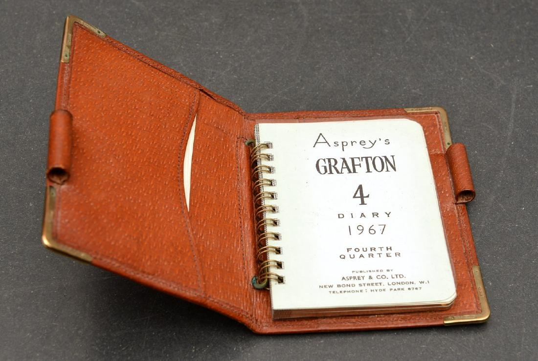 (8) Leather accessories incl. Asprey of London - 3