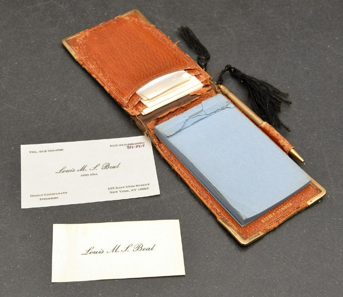 (8) Leather accessories incl. Asprey of London - 4
