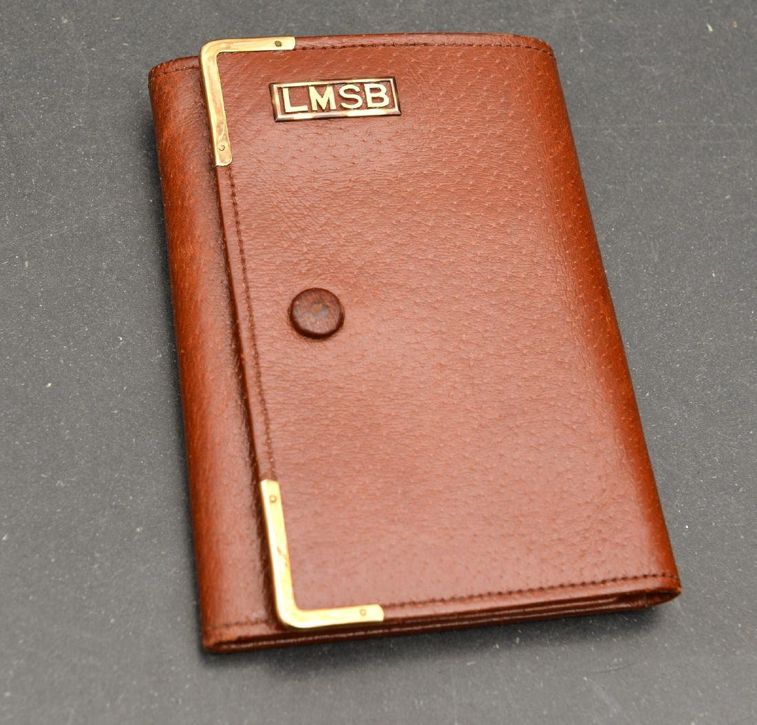 (8) Leather accessories incl. Asprey of London - 5