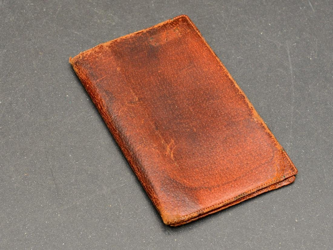 (8) Leather accessories incl. Asprey of London - 8