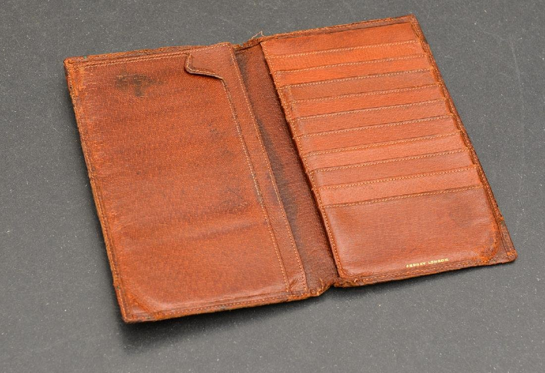 (8) Leather accessories incl. Asprey of London - 9