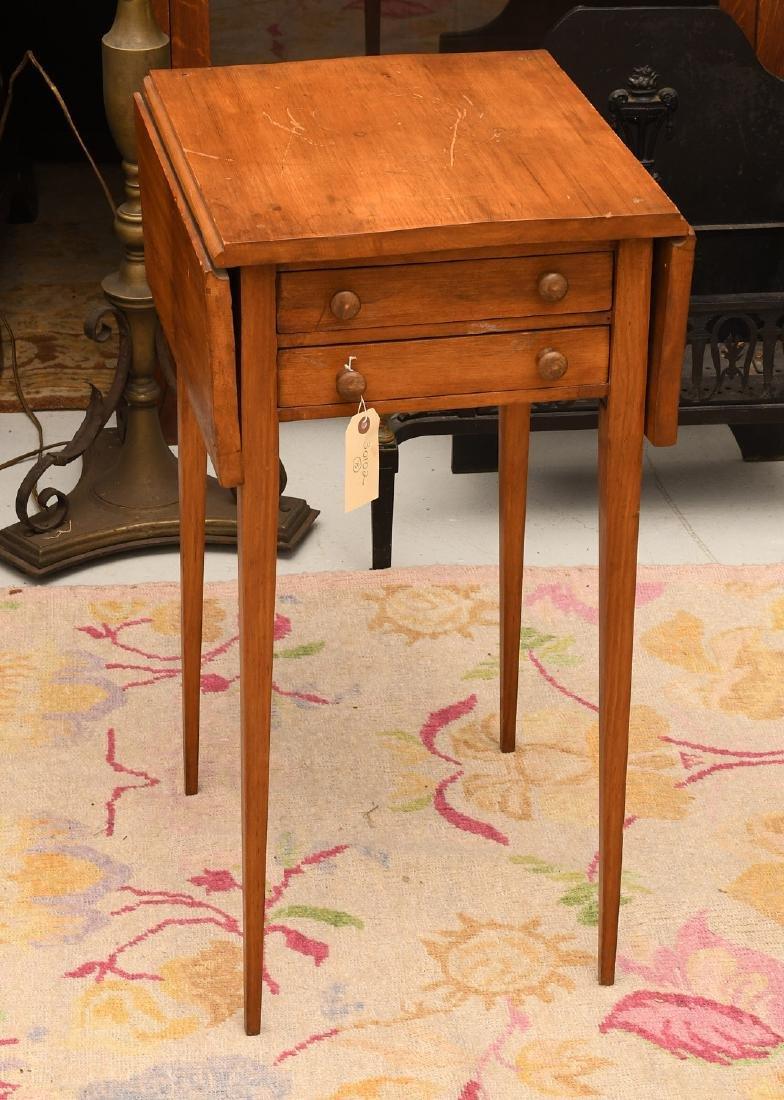 Sheraton style fruitwood pembroke table