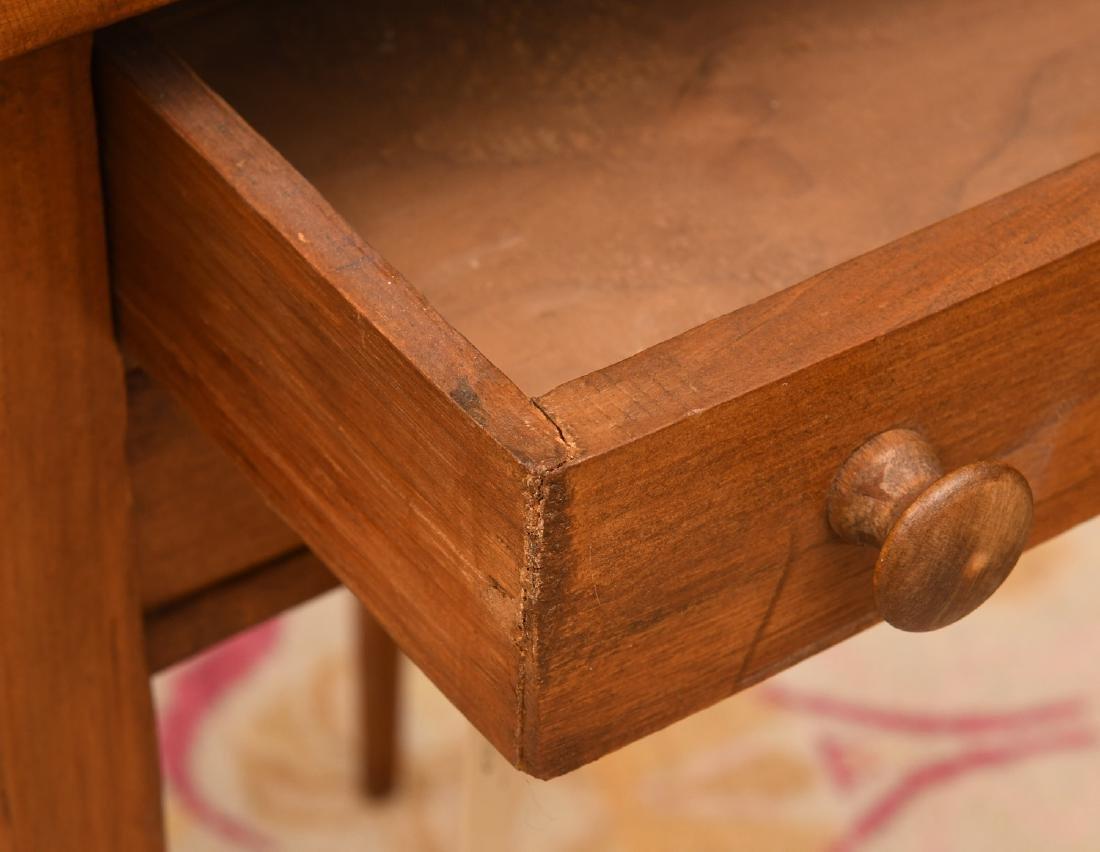 Sheraton style fruitwood pembroke table - 2