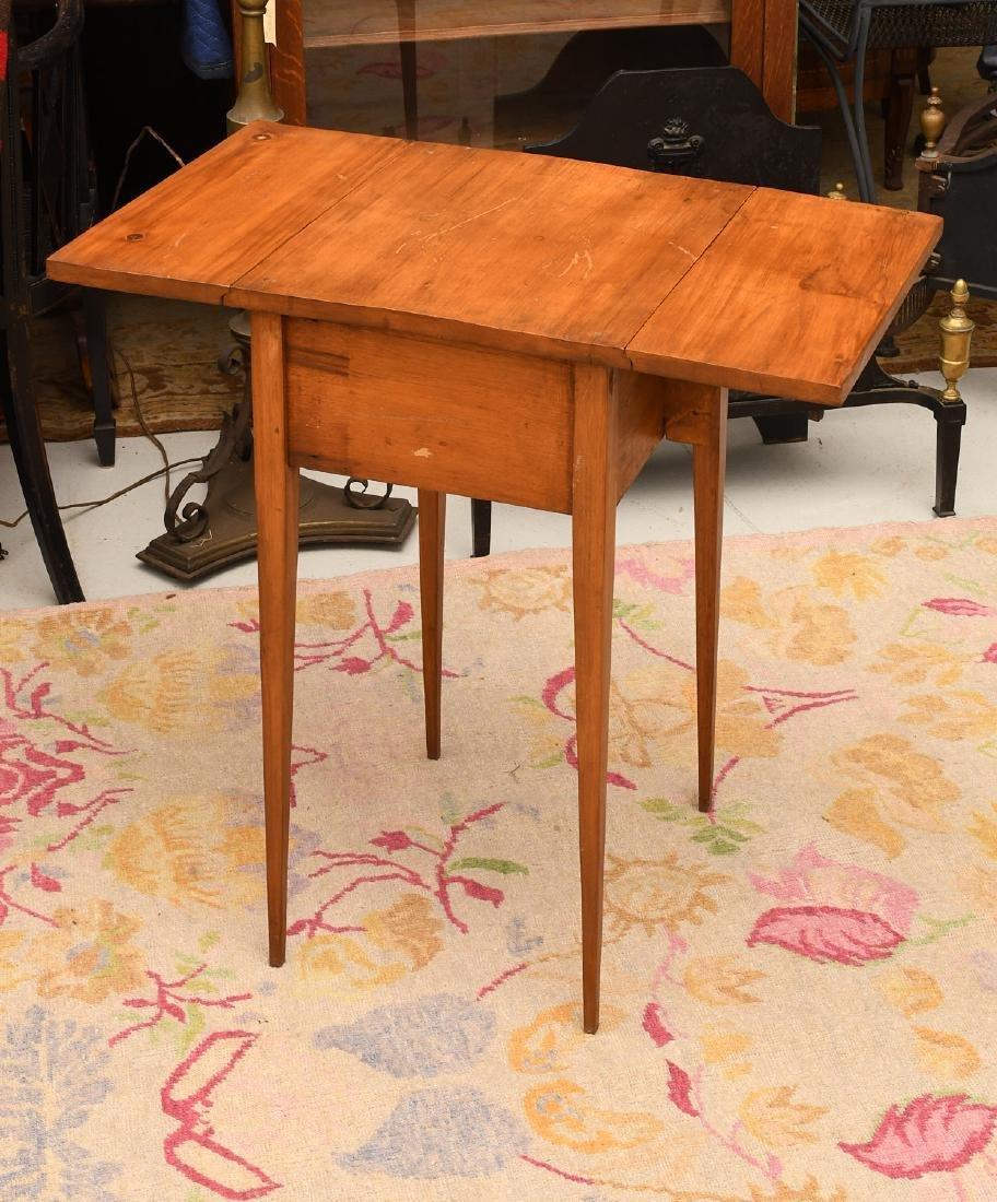Sheraton style fruitwood pembroke table - 4