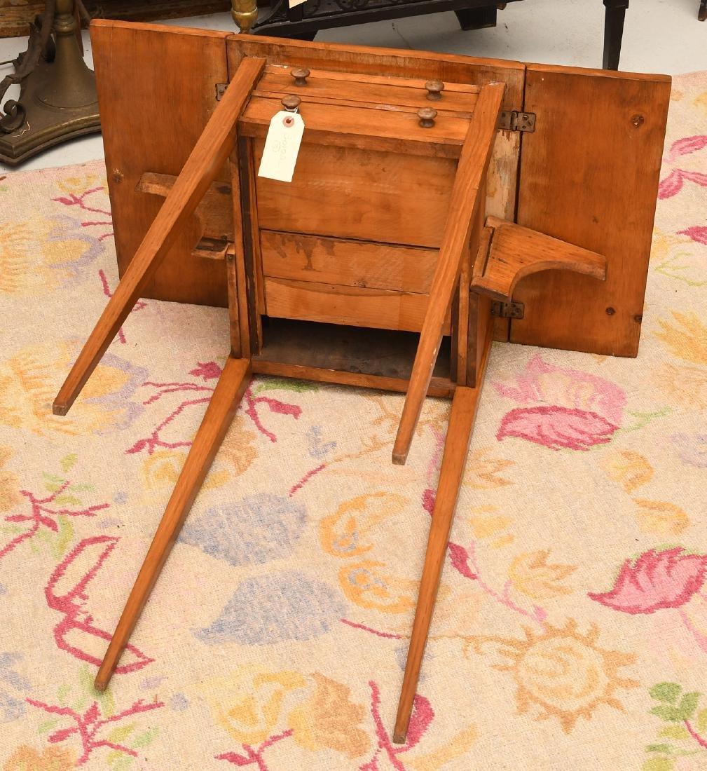 Sheraton style fruitwood pembroke table - 5