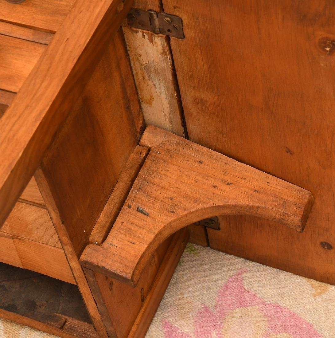 Sheraton style fruitwood pembroke table - 6