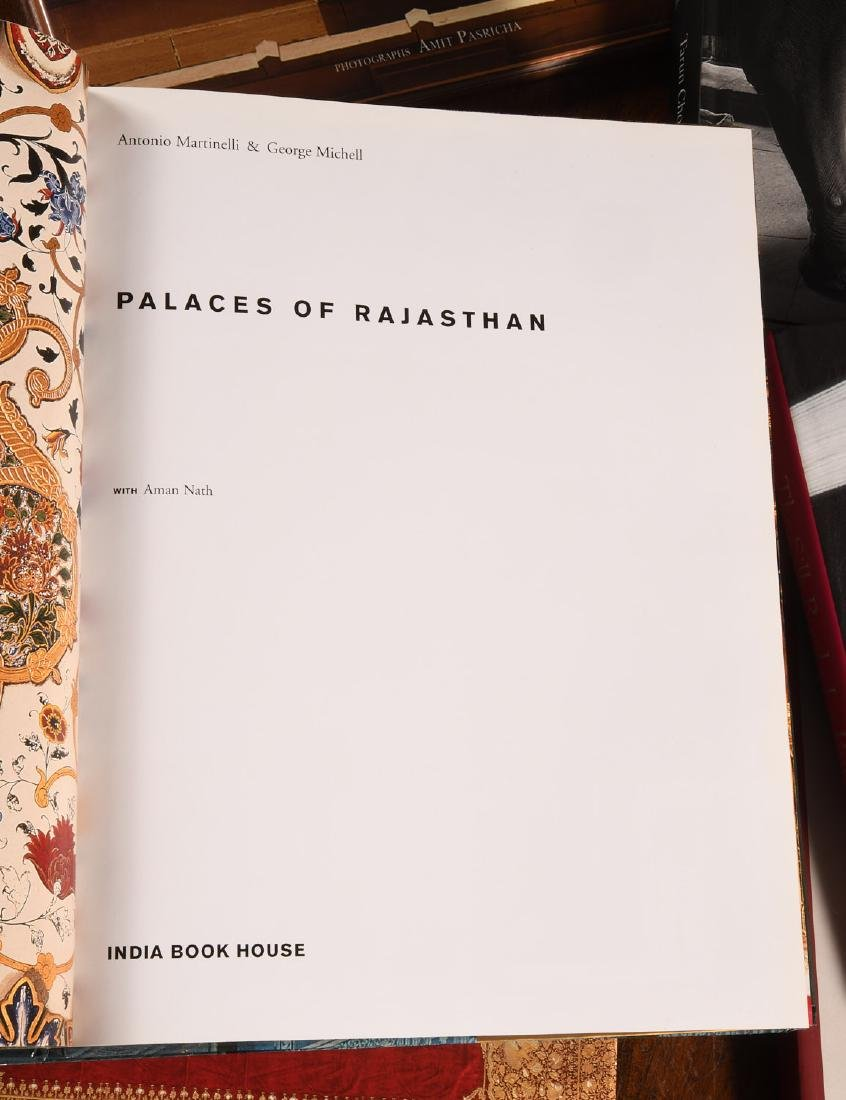 BOOKS: (8) Vols Art and Palaces of India - 6