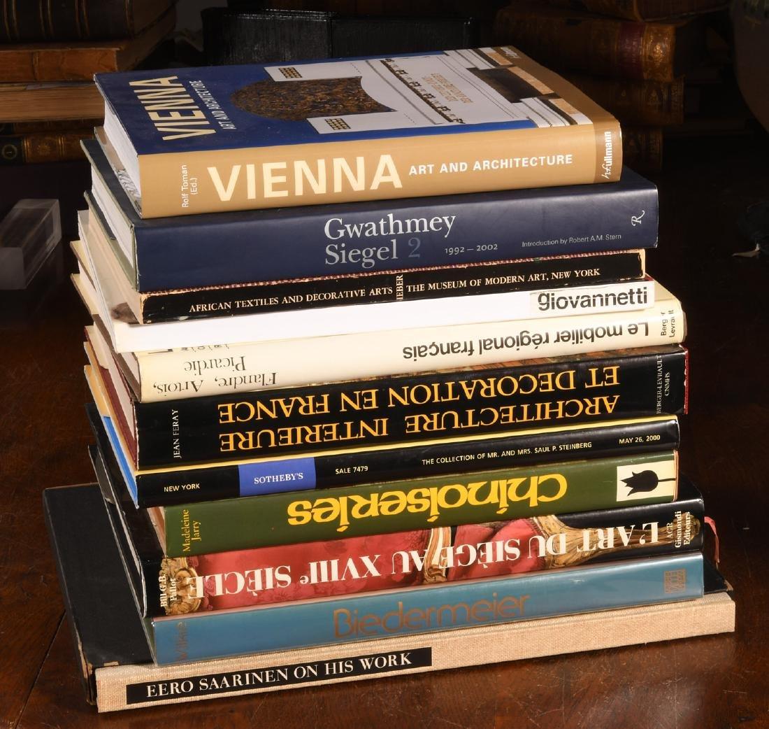 BOOKS: (11) Vols Architecture & Design, Saarinen