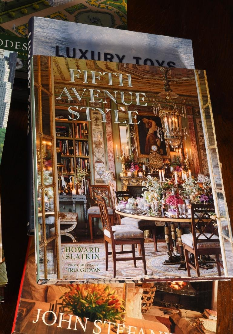 BOOKS: (13) Vols Decorating Design Style, 1 Signed - 2