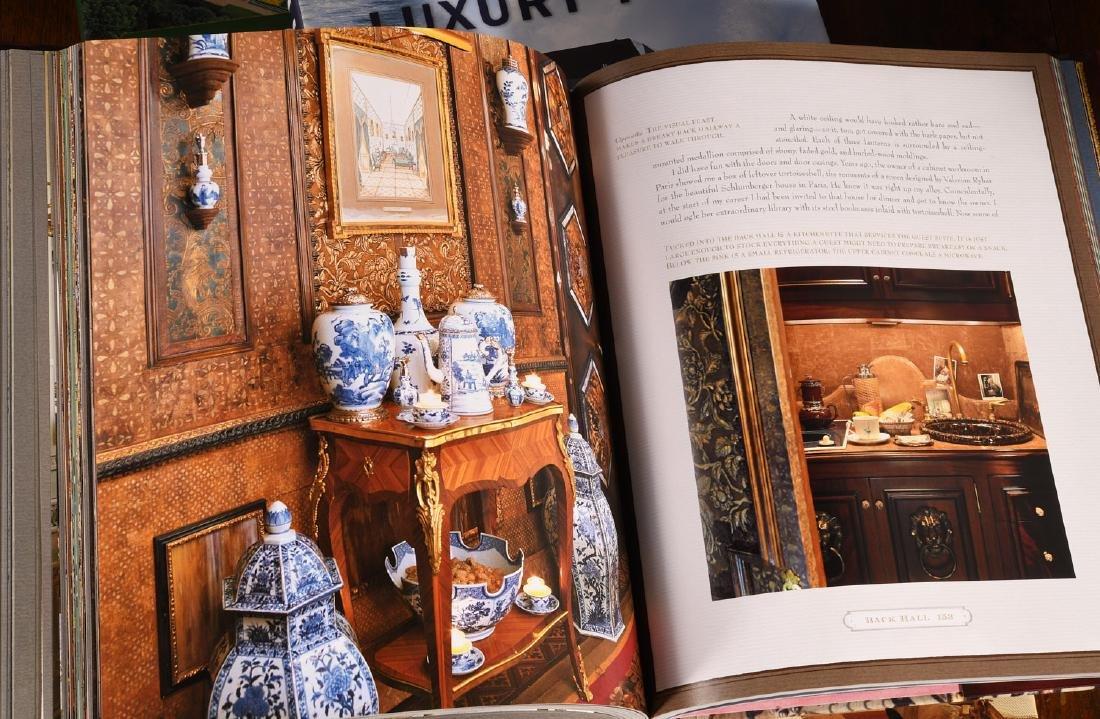BOOKS: (13) Vols Decorating Design Style, 1 Signed - 5