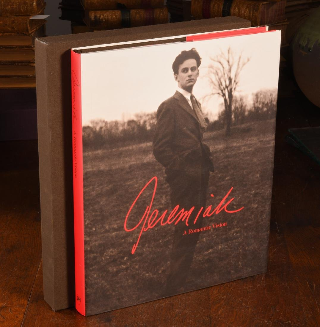 BOOK: Jeremiah A Romantic Vision SIGNED
