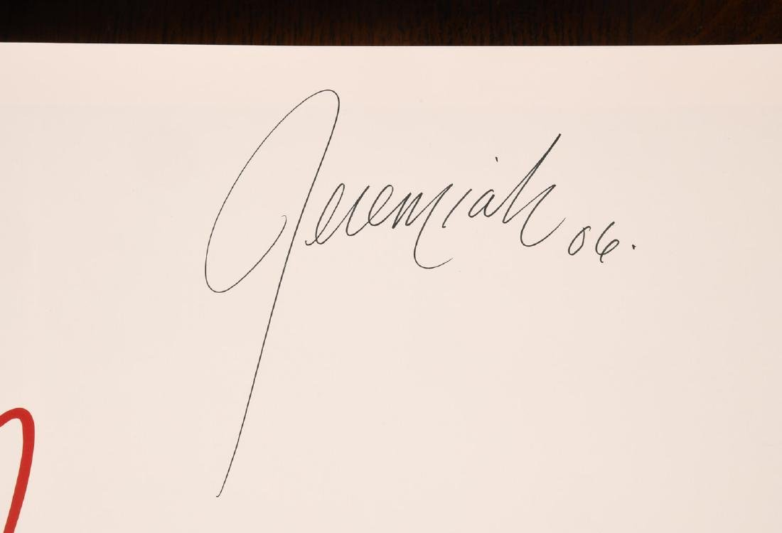 BOOK: Jeremiah A Romantic Vision SIGNED - 2