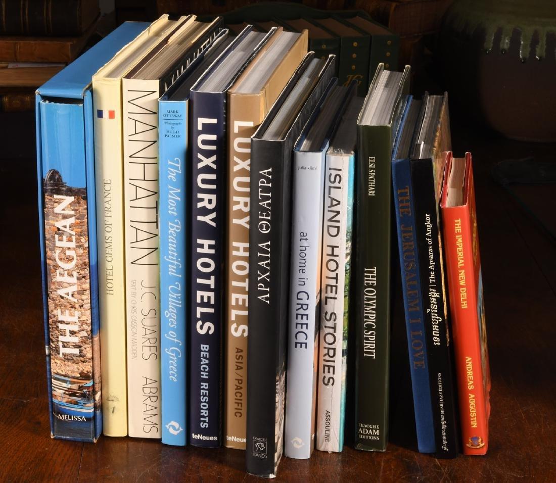 BOOKS: (13) Vols on Greece, Hotels, Travel