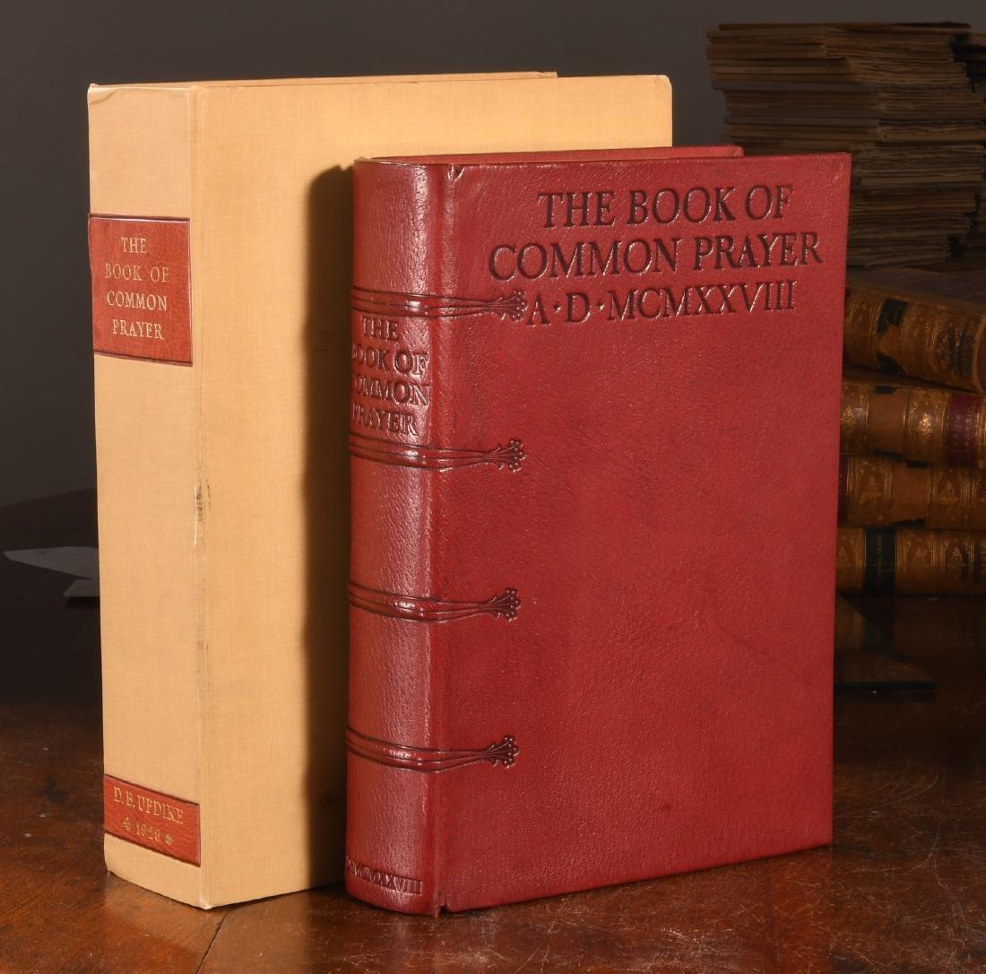 BOOK OF COMMON PRAYER 1928 Updike Merrymount