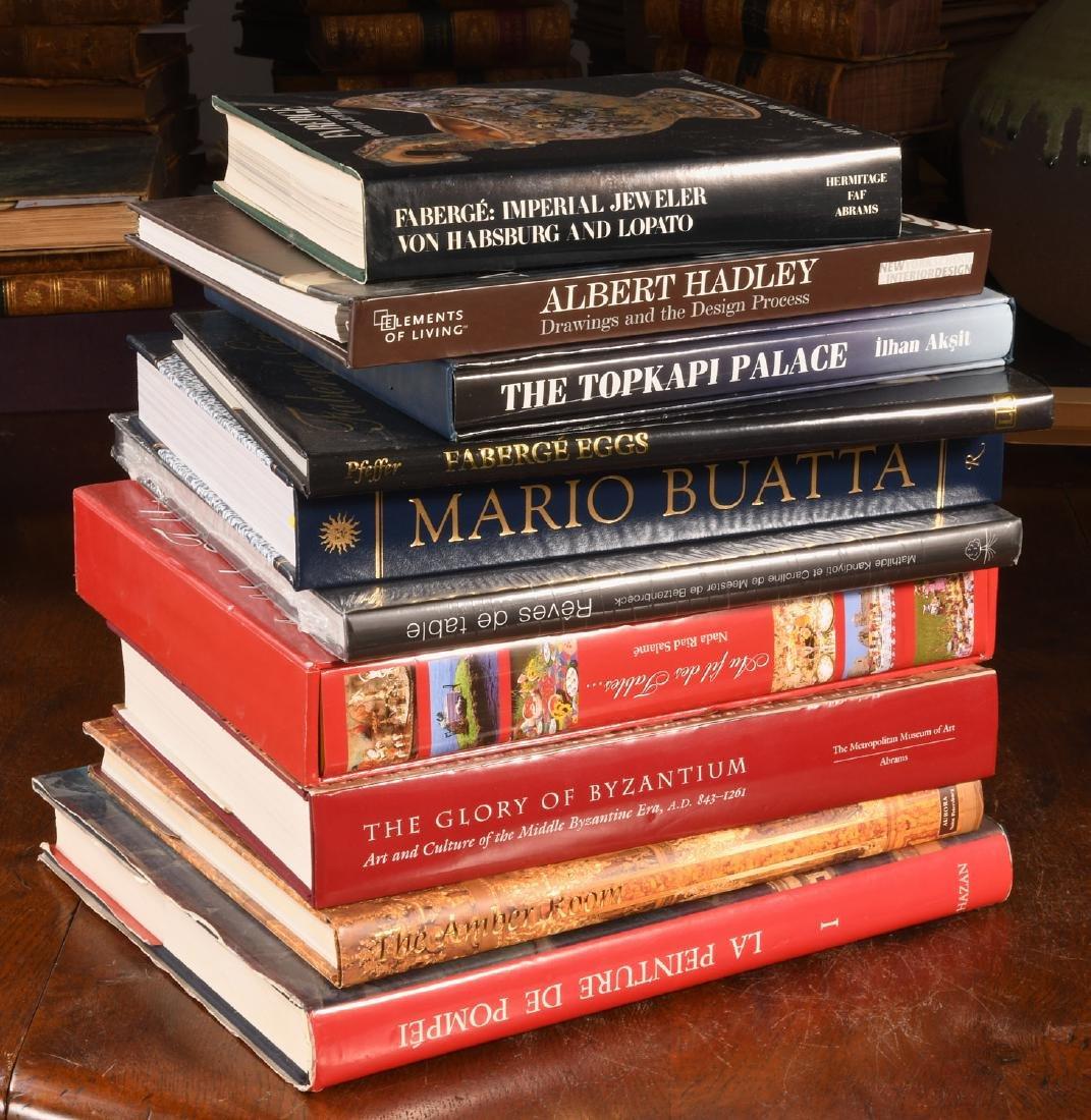 BOOKS: (10) Vols Art Design Faberge