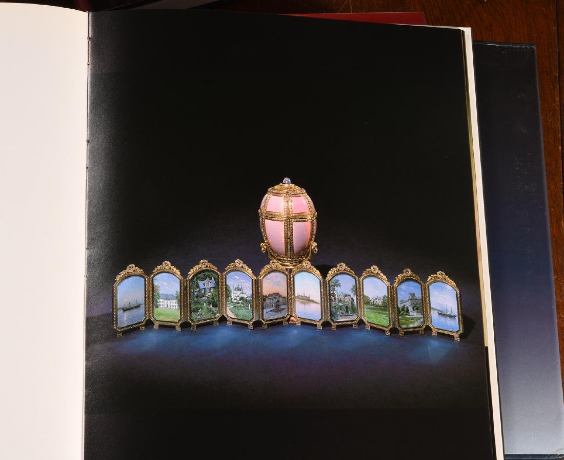BOOKS: (10) Vols Art Design Faberge - 6