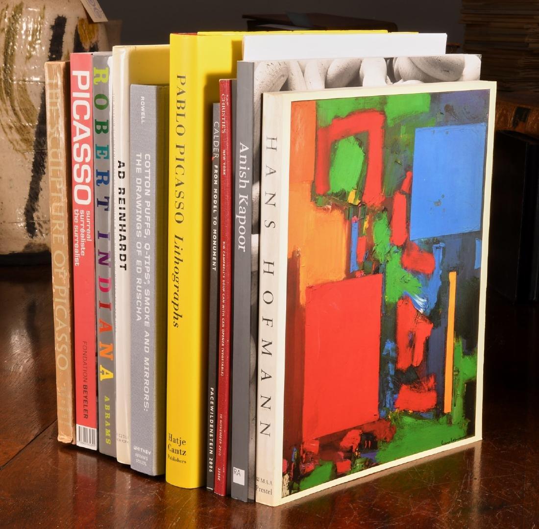 BOOKS: (10) Vols Post-War & Modern Artists