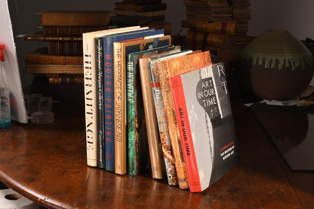 BOOKS: (9) Vols Modern Art, The Hermitage