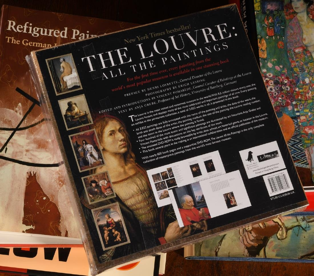 BOOKS: (8) Vols Contemporary Art & The Louvre - 10