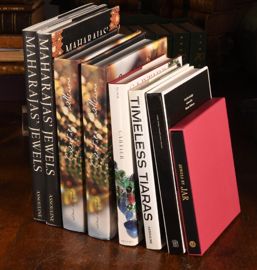 BOOKS: (8) Vols Cartier Jewels & Jewelry