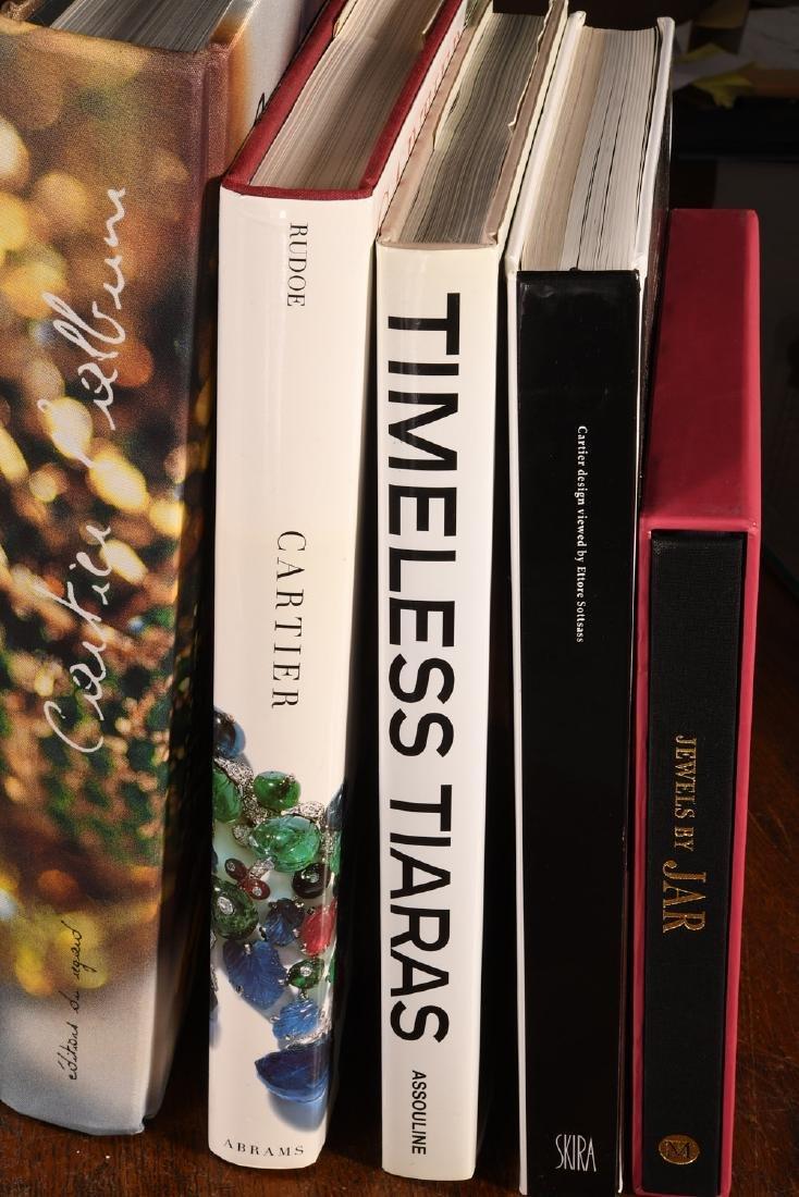 BOOKS: (8) Vols Cartier Jewels & Jewelry - 3