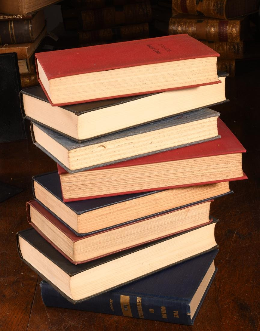 BOOKS: (8) Vols WWII Churchill Rebecca West - 10