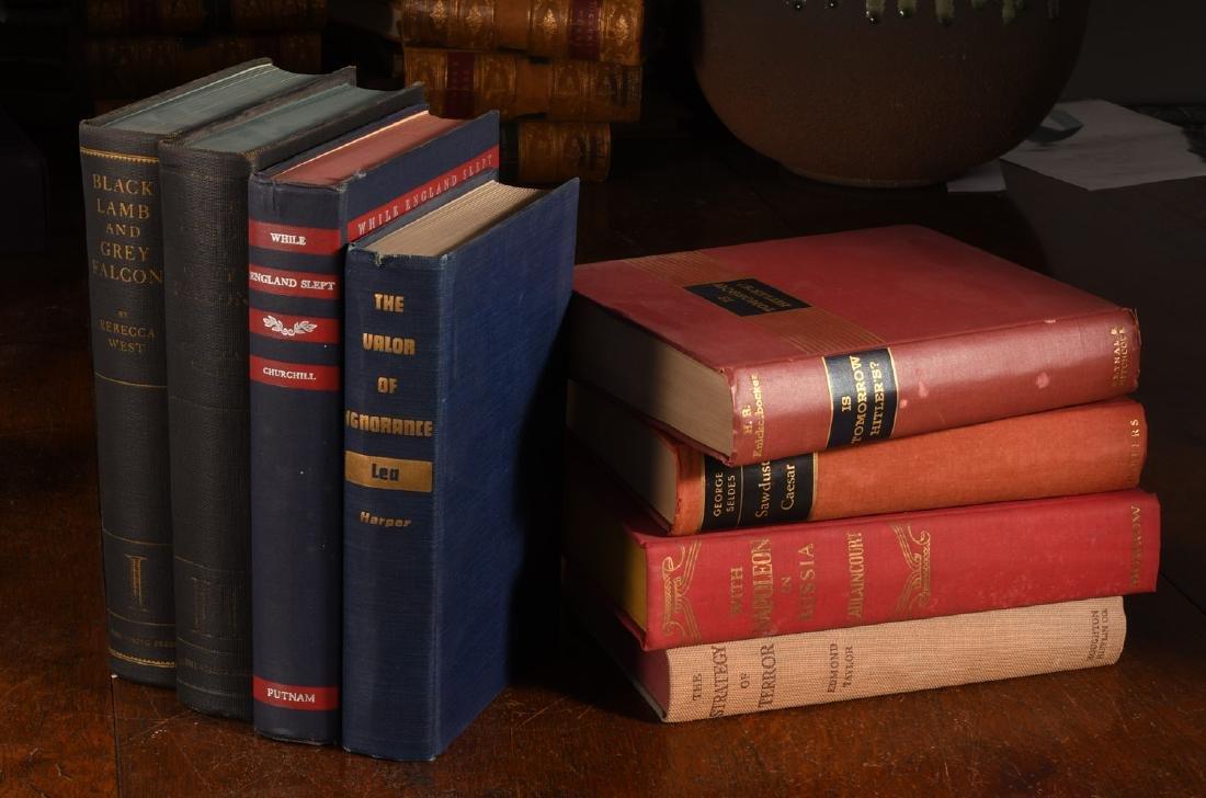 BOOKS: (8) Vols WWII Churchill Rebecca West