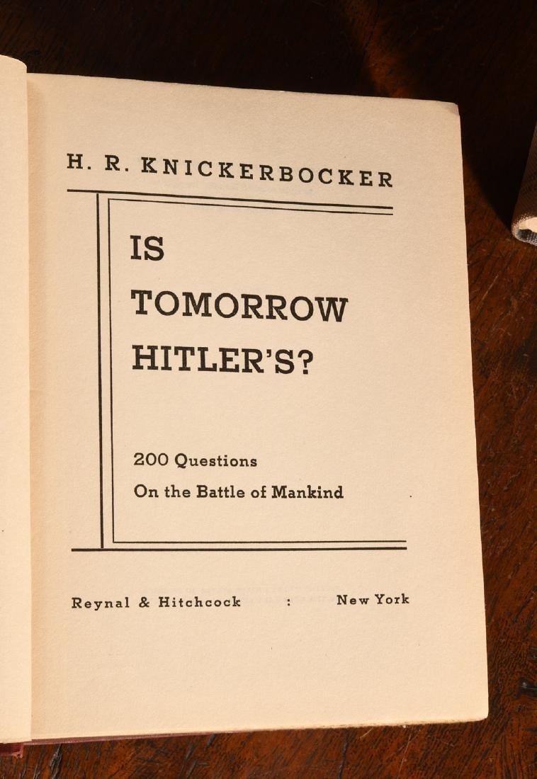 BOOKS: (8) Vols WWII Churchill Rebecca West - 4