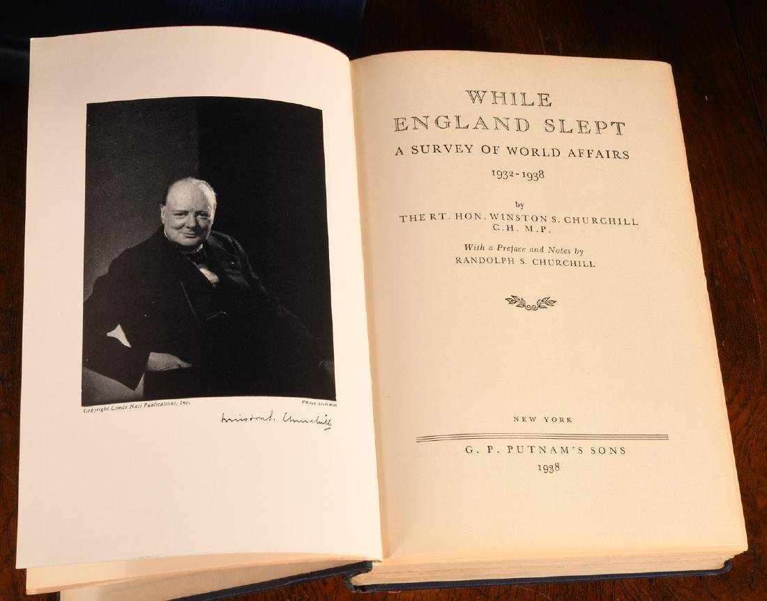 BOOKS: (8) Vols WWII Churchill Rebecca West - 6