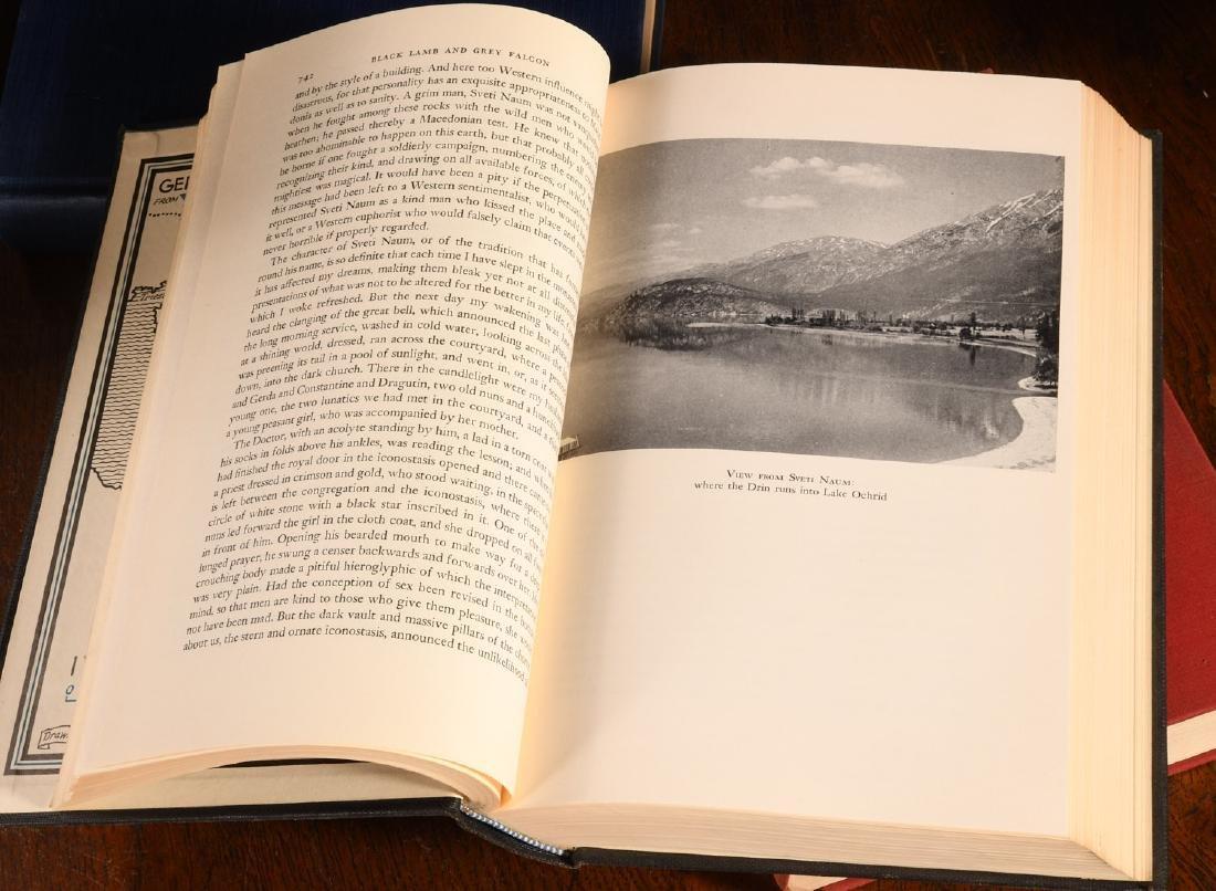 BOOKS: (8) Vols WWII Churchill Rebecca West - 7