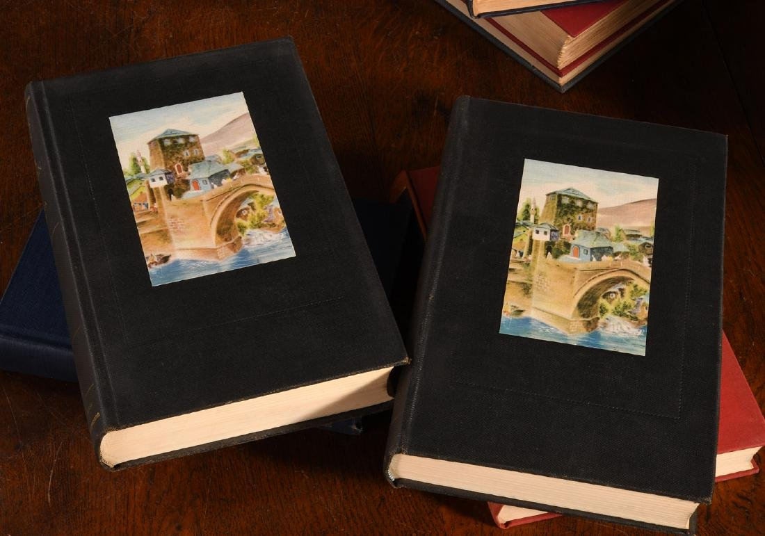 BOOKS: (8) Vols WWII Churchill Rebecca West - 8