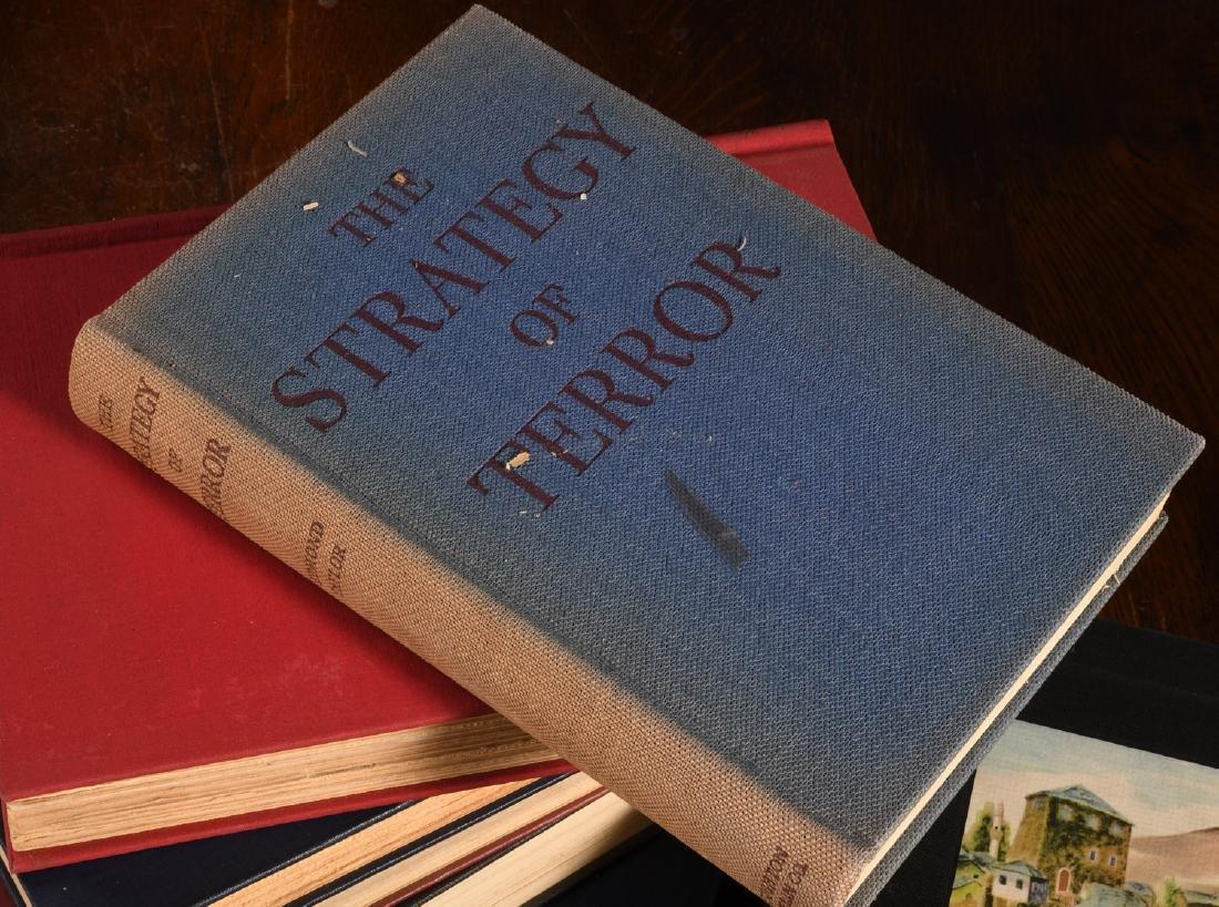 BOOKS: (8) Vols WWII Churchill Rebecca West - 9