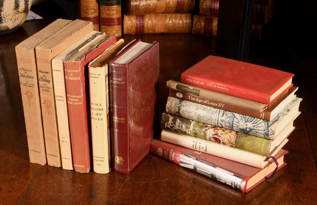 BOOKS: (13) Vols French Royalty & High Society
