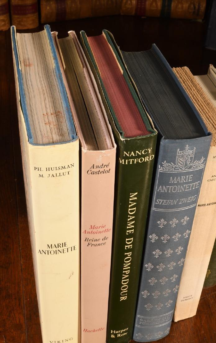 BOOKS: (9) Vols Marie Antoinette Mme Pompadour - 2