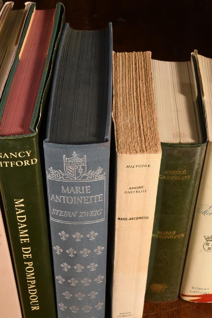 BOOKS: (9) Vols Marie Antoinette Mme Pompadour - 3