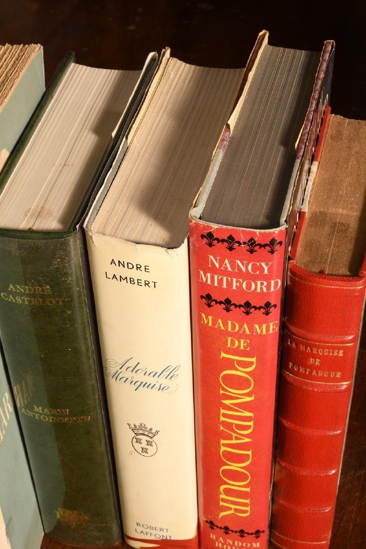 BOOKS: (9) Vols Marie Antoinette Mme Pompadour - 4