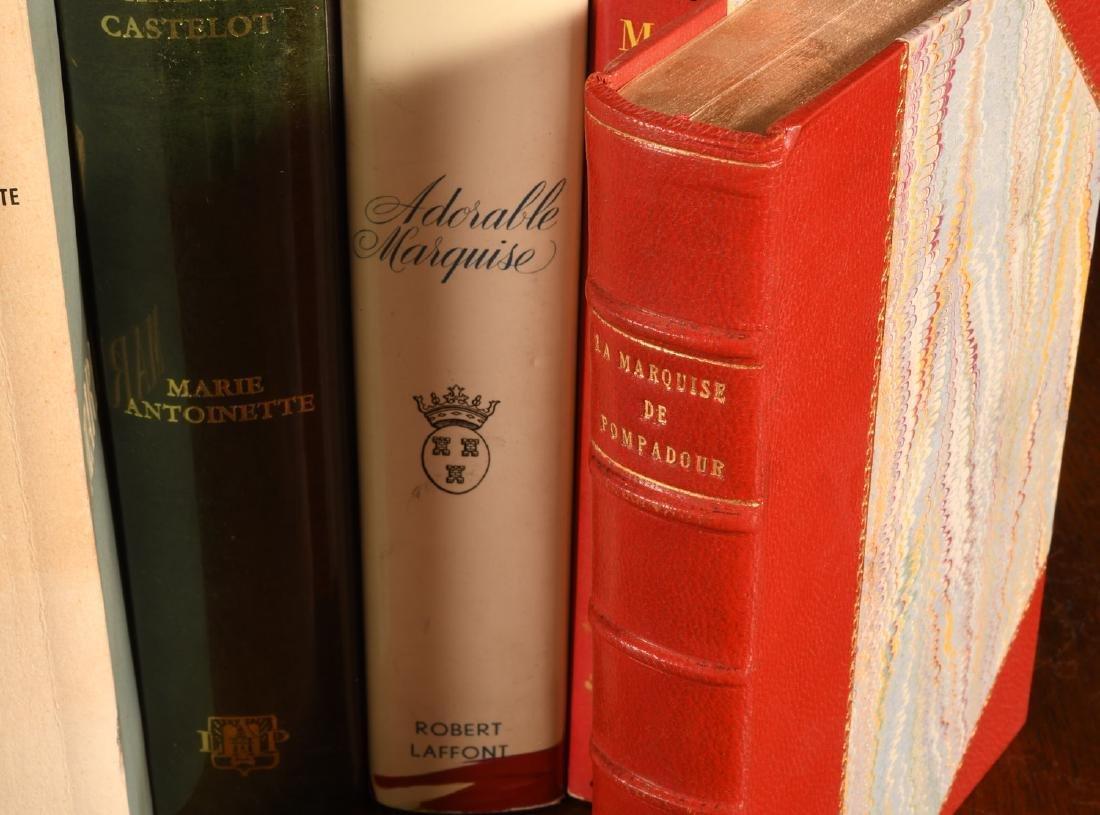 BOOKS: (9) Vols Marie Antoinette Mme Pompadour - 5