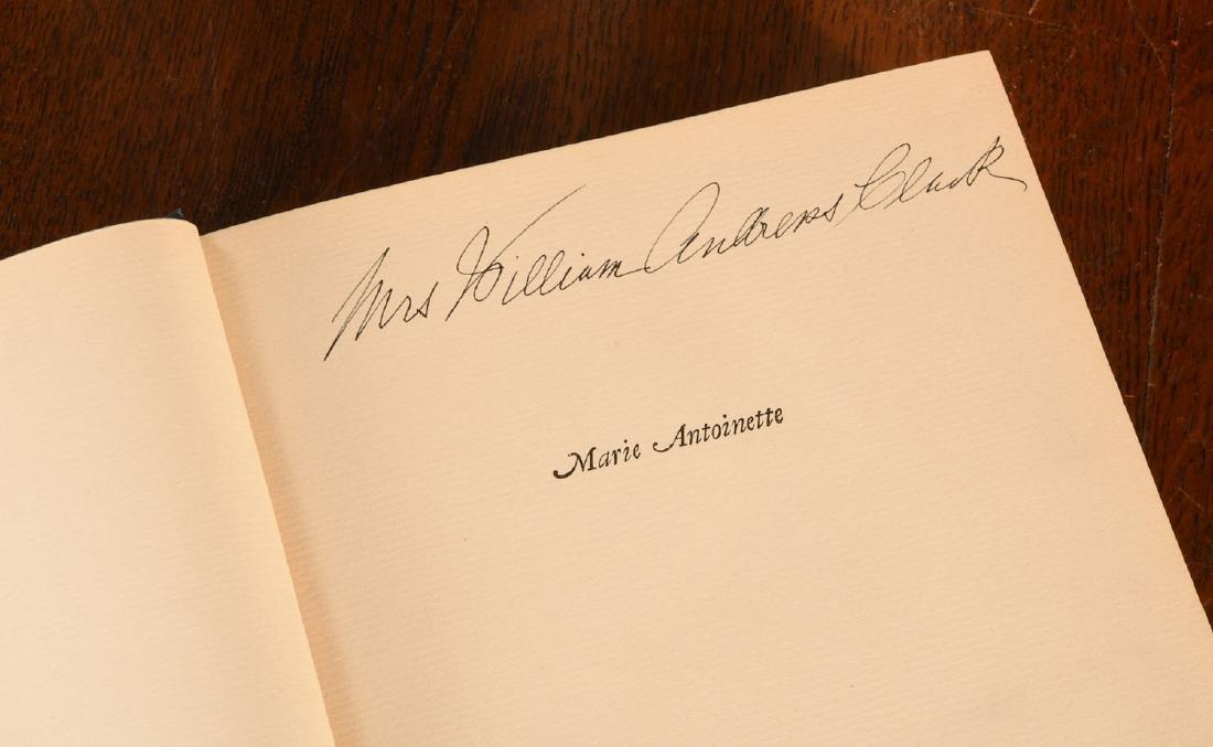 BOOKS: (9) Vols Marie Antoinette Mme Pompadour - 6