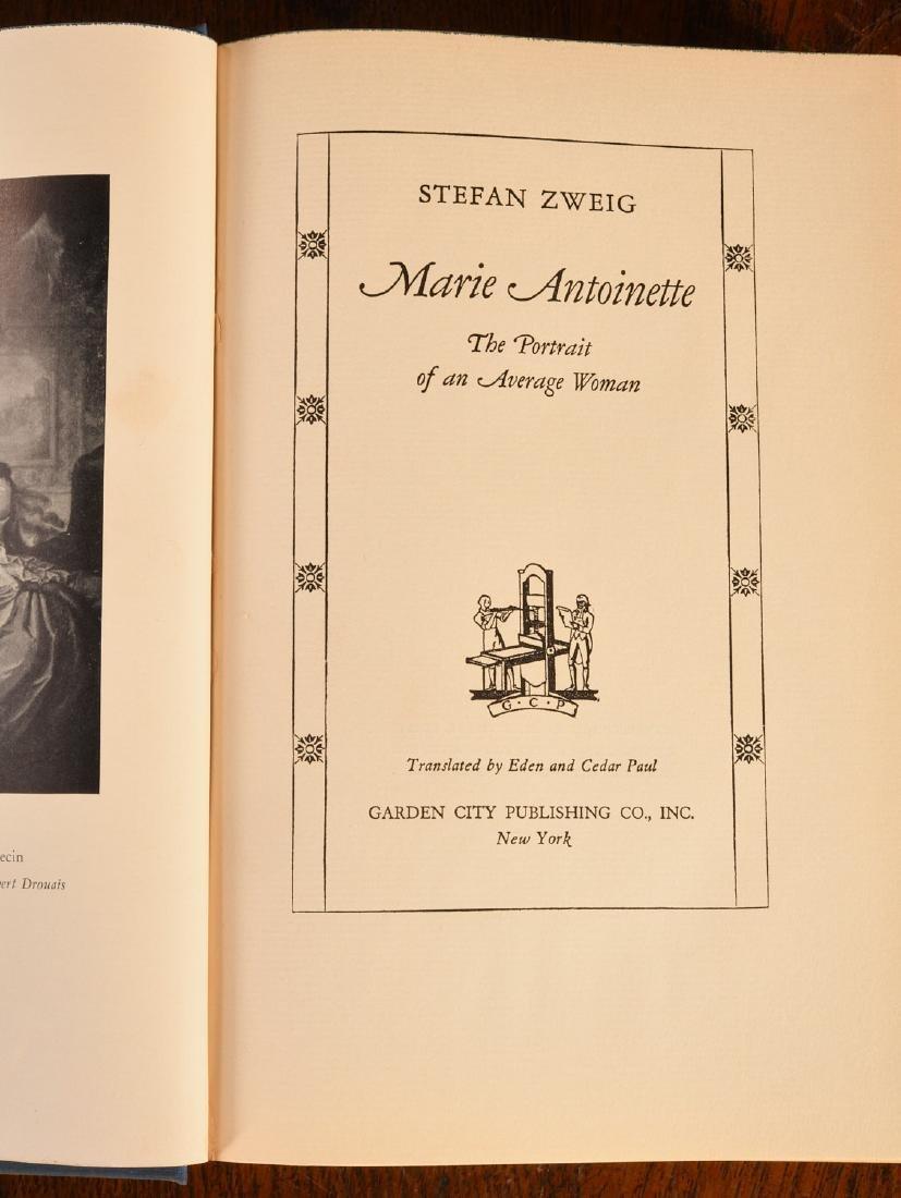 BOOKS: (9) Vols Marie Antoinette Mme Pompadour - 7