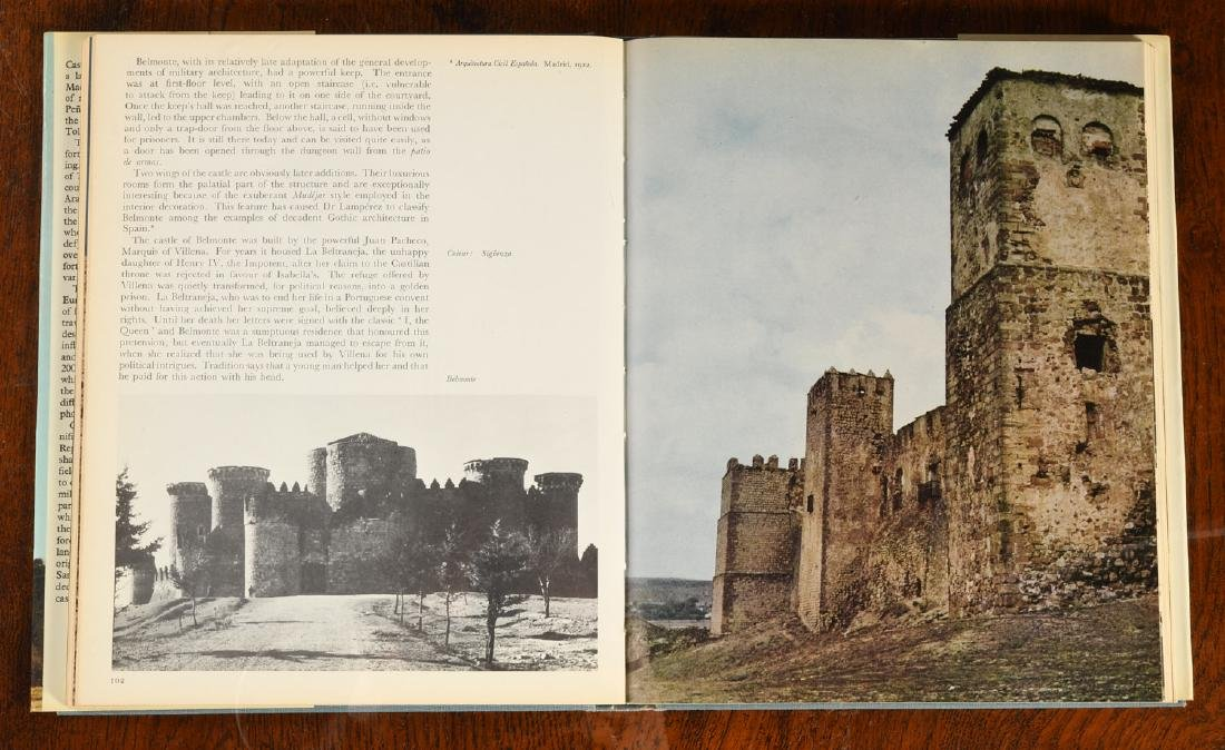 BOOKS: (14) Vols Palaces & Castles of Europe - 6
