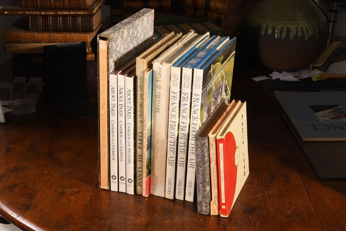 BOOKS: (13) Vols on France and Paris