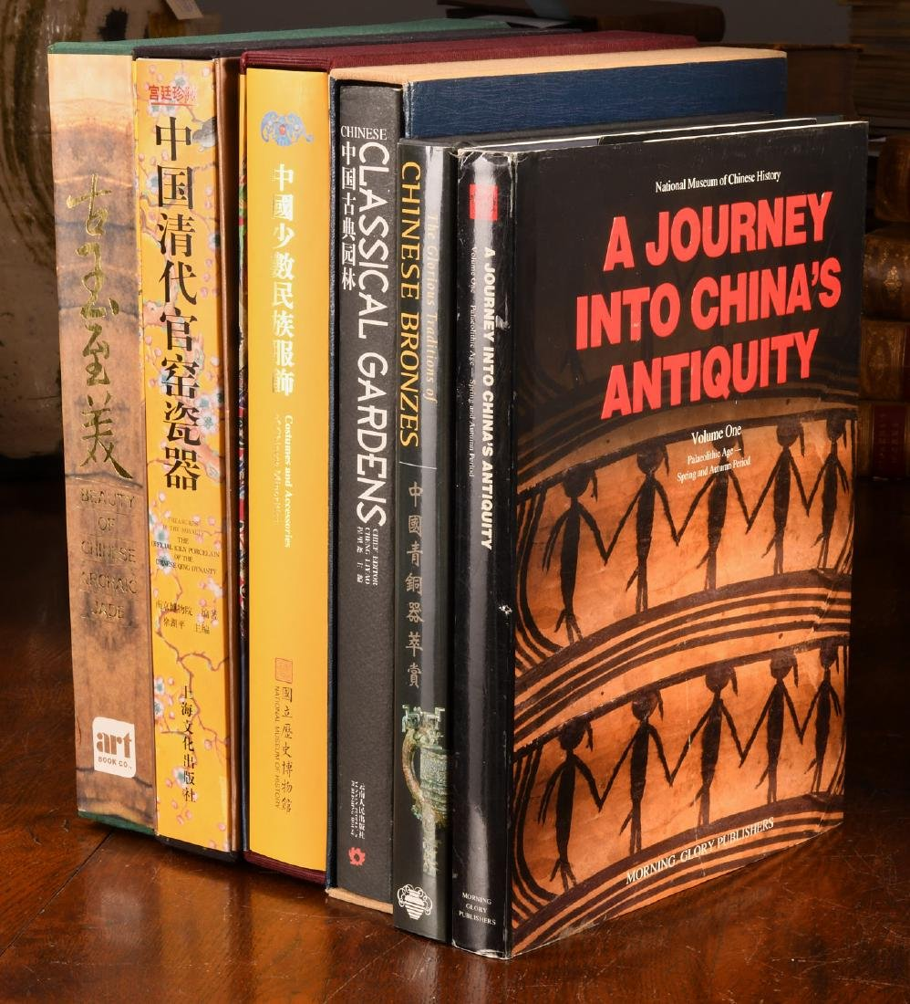 BOOKS: (6) Vols Chinese Qing Porcelain Jade Bronze